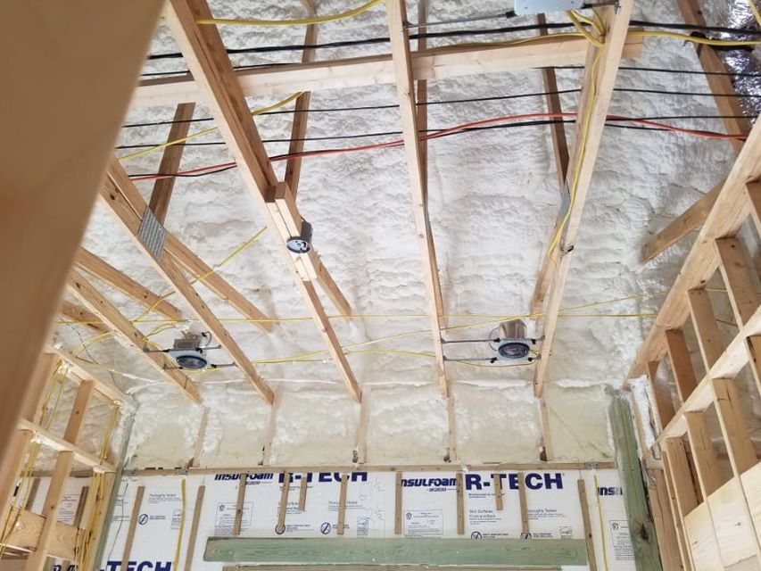 Attic Spray Foam Insulation Elkhart Indiana
